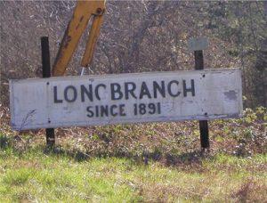 "Longbranch sign ""Since 1891"""